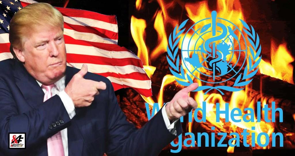 """Průlom: """"Lhali nám o koronaviru,"""" říká Trump (VIDEO) a končí spolupráci se Světovou zdravotnickou organizaci WHO. Řídí ji prý Čína a Bill Gates. Evropská unie prosí: """"To se nám, Donalde, vůbec nehodí!"""""""