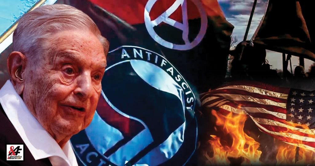 """""""Antifa – to jsou skuteční fašisté!"""" Vůdce Černých panterů a jeho mrazivá výzva. Děsivé záběry z občanské války USA. Násilí, chaos, zmar. Prezidenta Trumpa opouštějí generálové"""