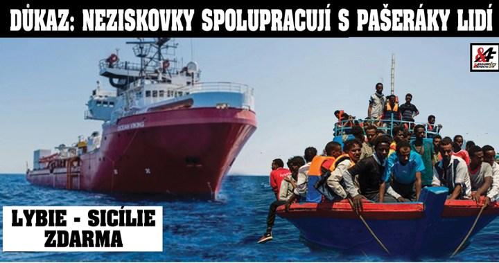 Potvrzeno: Neziskovky spolupracují s pašeráky lidí už u břehů Lybie, říká nová analýza německého centra pro ilegální migraci. Obrovské zisky. Rekordní počty migrantů – navzdory koronaviru