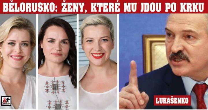 Falešná revoluce v Bělorusku: Tři herečky v bílém jako další metastáza genderistického pokusu ovládnout svět. Kdy přijdou odstřelovači? Putin Bělorusko nepustí, ale bude to tuhý boj