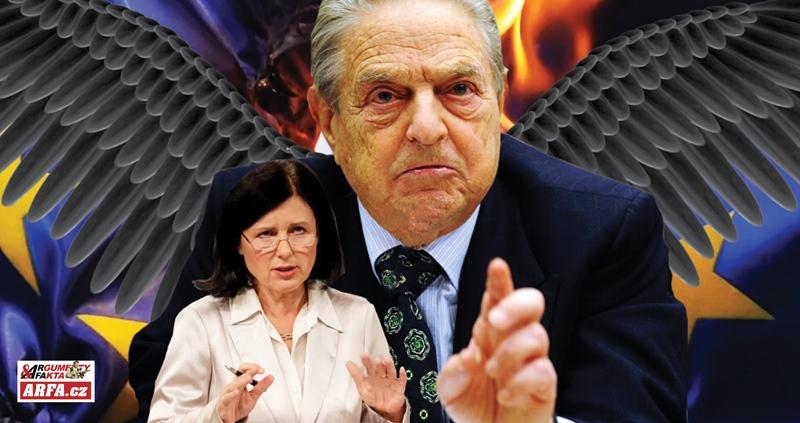 Padouch George Soros, jeho loutka komisařka Jourová a statečný boj premiérů Orbána a Morawieckého za národní suverenitu. Velký restart se zadrhává.