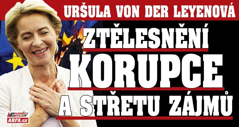 """Šílená Uršula, nejmocnější žena Evropy: Spleť korupce a střetu zájmů ve jménu lepších zítřků? Lobisté jako poradci, šmelina s vakcínami… """"Už měla dávno sedět"""", míní její kritici."""