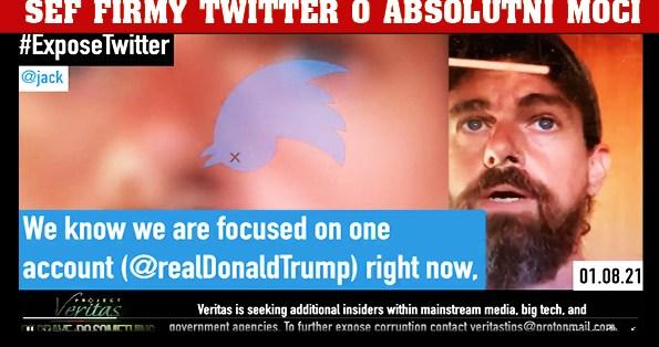 """""""Tohle je jen začátek!"""" Uniklé video odhaluje zákulisní diskuse šéfa Twitteru Jacka Dorseyho před cenzurou Trumpa. Kdysi Twitter pomohl Trumpovi na trůn, dnes ho poslal do pekla!"""