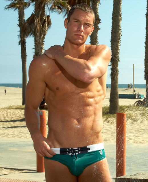 Green Speedos