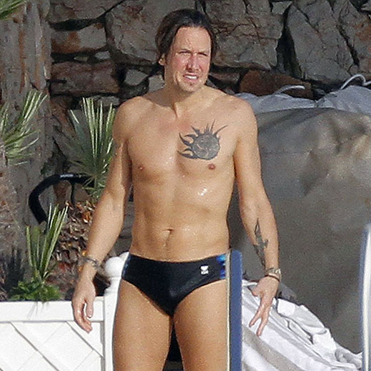 Keith Urban in a Speedo