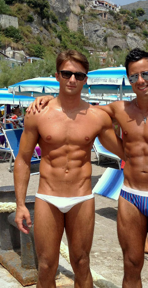 Tiny White Speedos