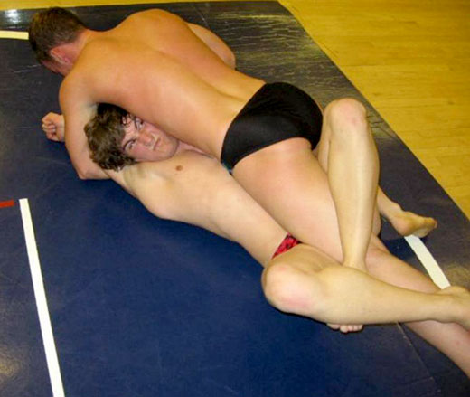 Gay Speedo Wrestling