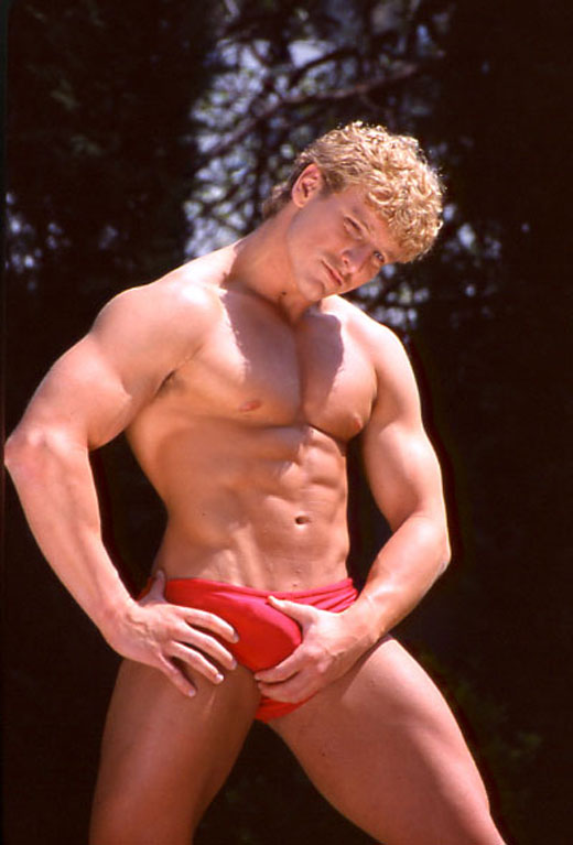 Red Speedo Boner