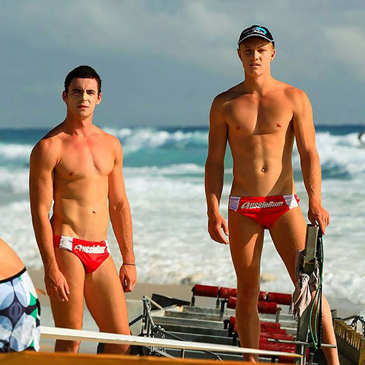 Two AussieBum Models