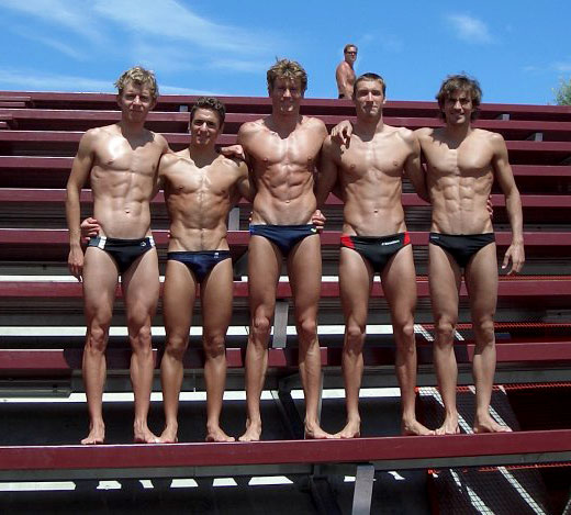 Swimmers with Six Packs