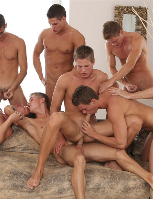 Gay orgy jacobey loves that tight 8