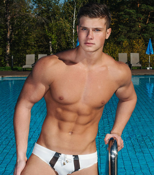 White Speedos and a Six Pack