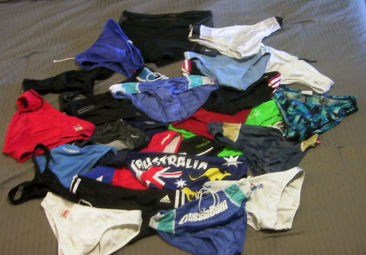 My Speedo Collection