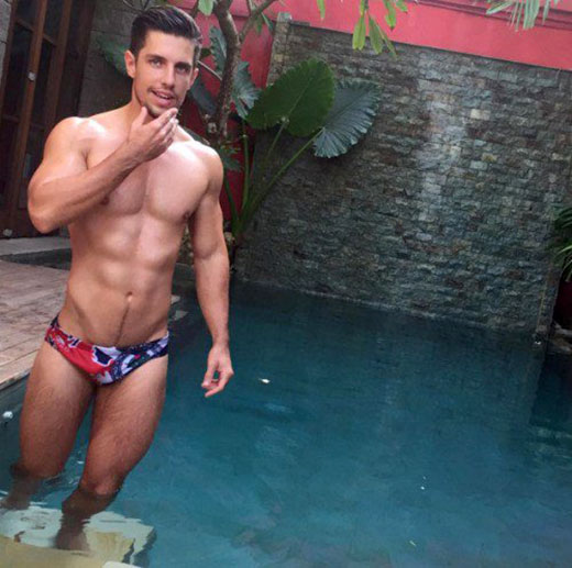 Nice pool, nice speedo