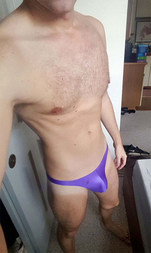 Purple G-String