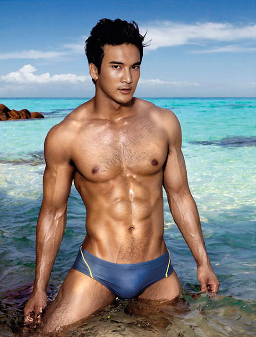 Asian Speedo Boy