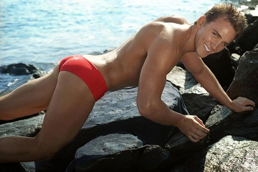 Awesome Red Speedo