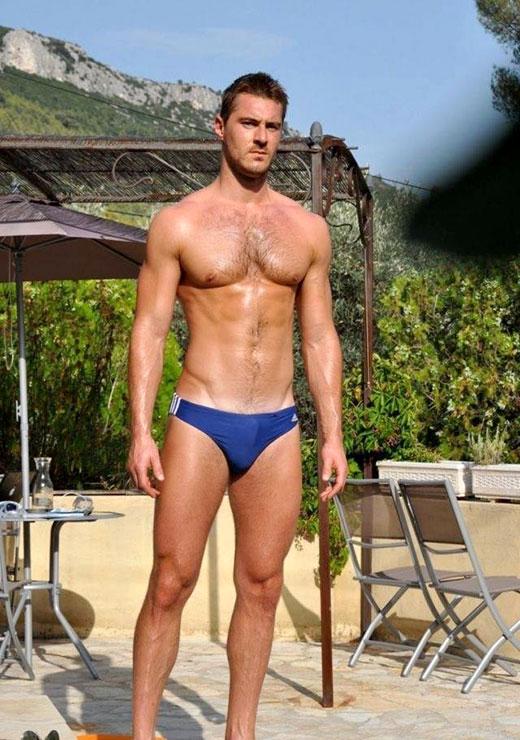 Blue ADIDAS Swimwear