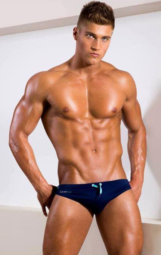 Blue Speedo Model