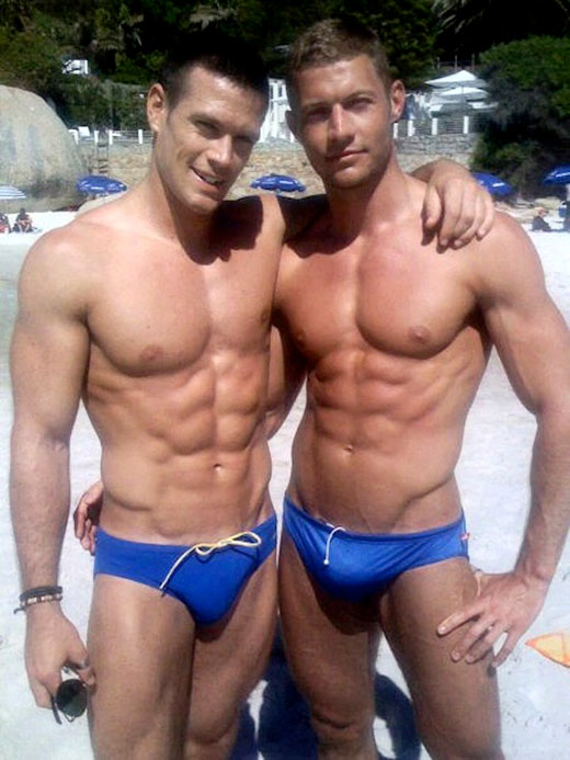 Blue Speedos
