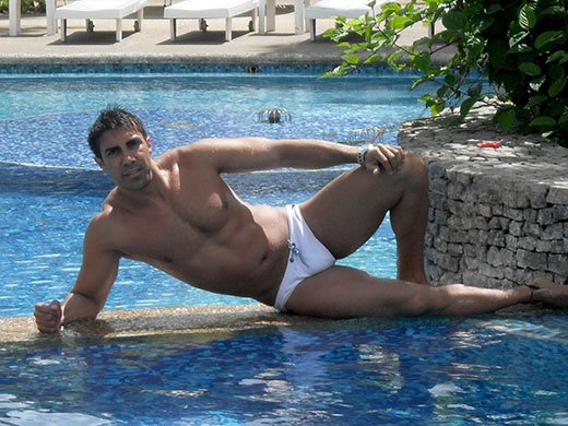 Courage to Wear White Speedos