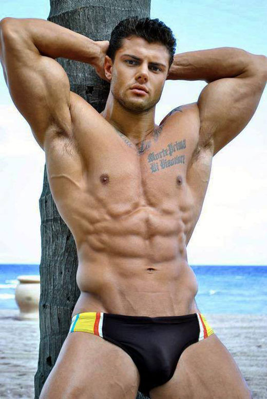 Muscle Speedo Man
