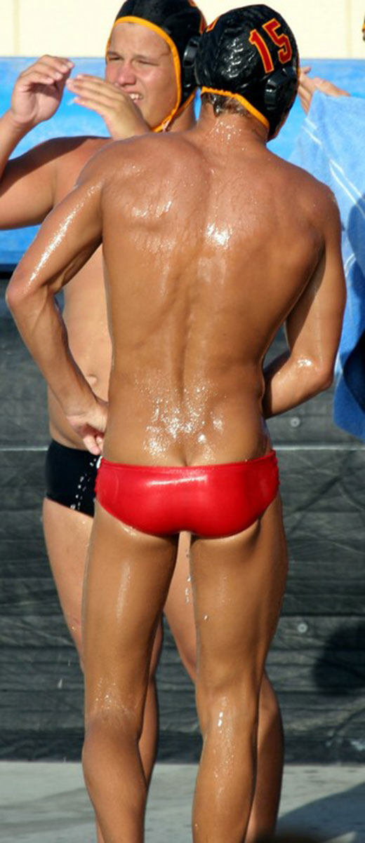 Waterpolo Speedo Butt