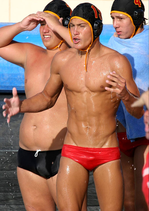 Waterpolo Players in Speedos