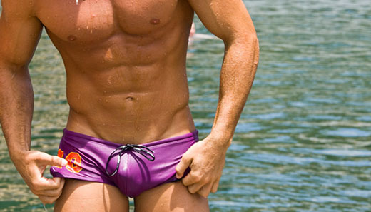 Purple Speedos