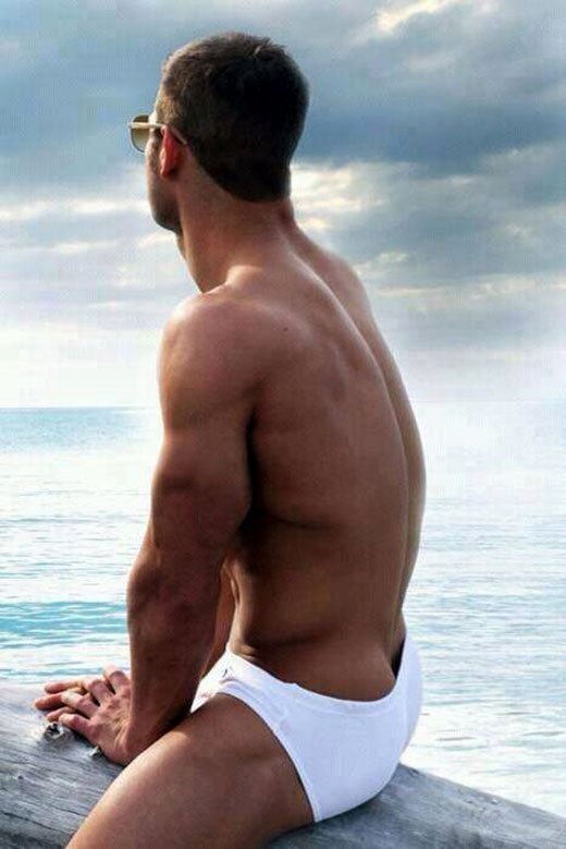 White Speedos