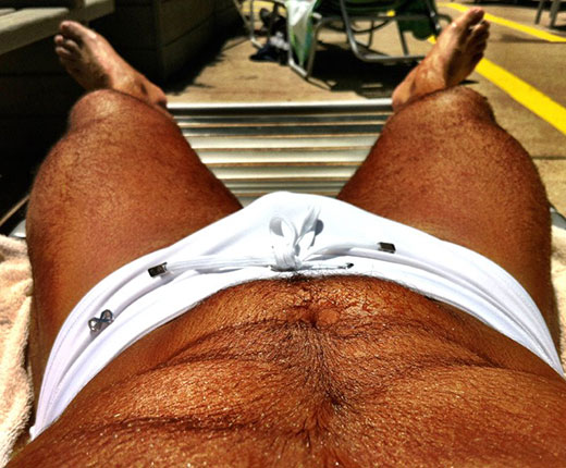 White Speedo Package