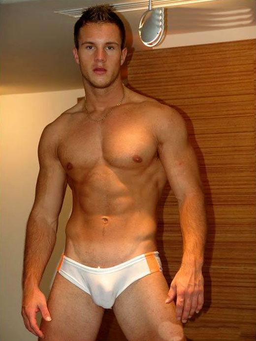 White Tight Speedo