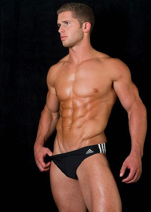 ADIDAS Black Speedo