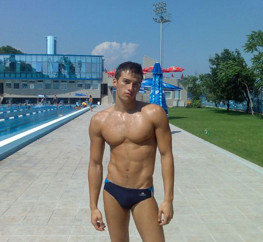 Blue Speedo