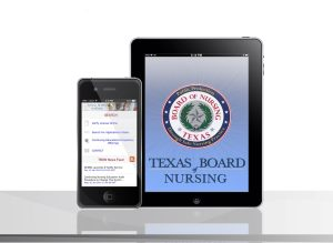 Texas Board of Nursing Mobile Application for Android and IOS - Mobile App Development