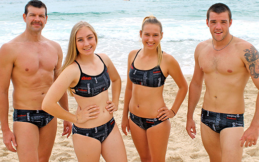 Broadbeach SLSC Swimsuits
