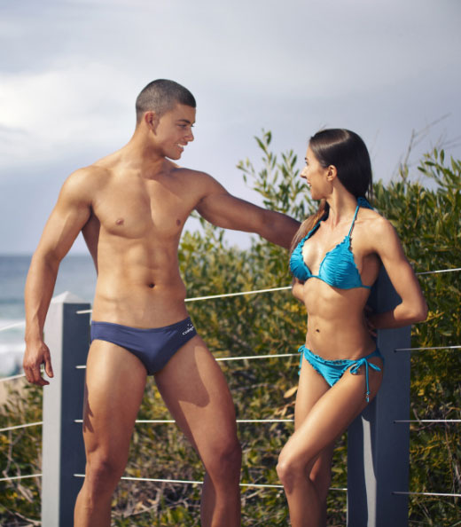 Couple in Swimwear
