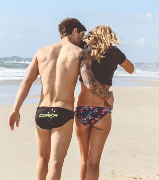 Hot Speedo Couple