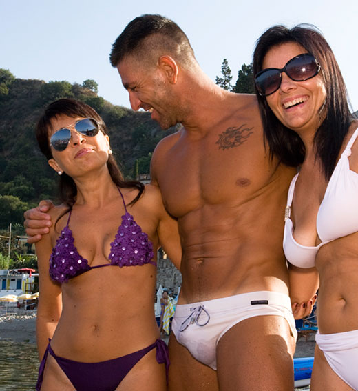 Speedo Guy and Girls