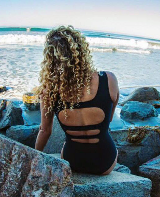 Lindsey Jacobellis One Piece Swimsuit