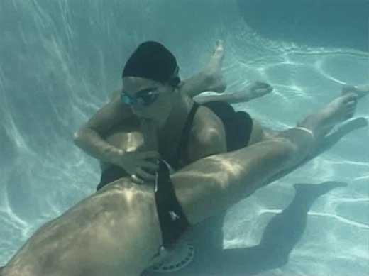 Under water porn
