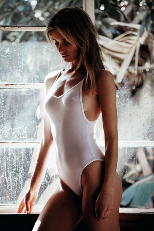 White Swimsuit