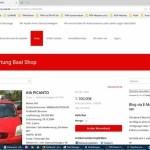 Blog Elke Wirtz  Projekt Autoverwertung Baal Webseite, Blog mit Shop