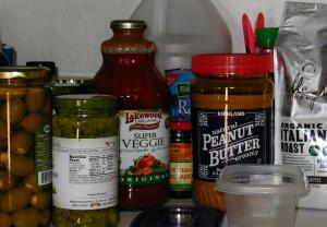 We don't have fois gras, quinoa, fish lips or figs in our pantry.