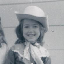 Before I deciding on my life calling as a writer, I wanted to be a cowgirl. At six-years-old, I wore this cowgirl outfit with sheer joy.