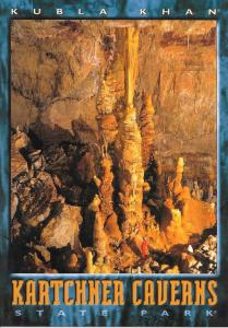 This column of rock named Kubla Kahn is over 58' tall, formed of calcite over thousands of years.