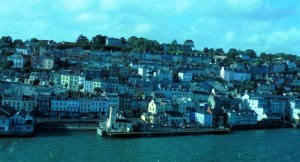 I took this picture as our ship left the harbor of Cobh, Ireland. My goal to be there began with writing it down, and there I was.