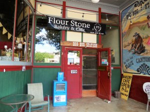 The Stone Flour Bakery and Cafe, a wonderful place to stop if you're ever in Mayer, AZ.