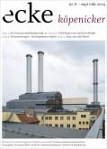 Stadtteilzeitung ecke koepenicker Nr 6 September Oktober 2015 Cover