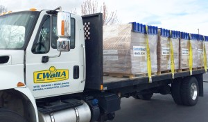 CWallA Delivery of Ceiling Tiles
